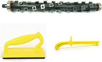 Byrd SHELIX Cutterhead for Dewalt DW735 OEM Planer+BONUS Push Block & Push Stick