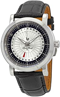 Lucien Piccard Men's LP-40014-02S-BC Ruleta Analog Display Quartz Black Watch