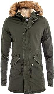 a4510be039 Amazon.it: parka - Giosal / Giacche e cappotti / Uomo: Abbigliamento