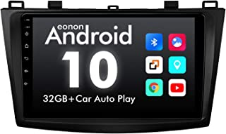 2021 Car Stereo,9 Inch Android 10 Car Radio,Fit Mazda 3 2010-2013,IPS HD Full Touchscreen Head Unit,Built-in CarPlay and D...