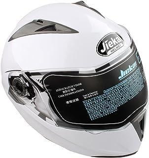 comprar comparacion Estink - Casco de moto, casco integral plegable de moto, con visera, aprobado por DOT, departamento de transporte