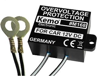 Kemo M168 Überspannungsschutz 12 V/DC. Unterdrückt Spannungsspitzen im KFZ Bordnetz. Verhindert Beschädigung an empfindlicher Bordelektronik
