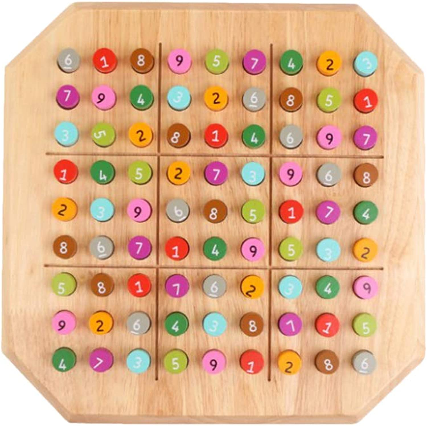 Wooden Kids Educational Playing Board Game Puzzles Development Logical Reasoning Training Classic Puzzle Table Toy