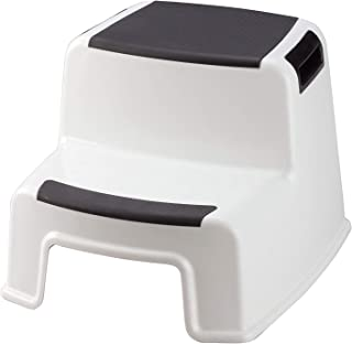 Trenton Gifts Portable Two Tier Stepping Stool for Light to Medium Weight
