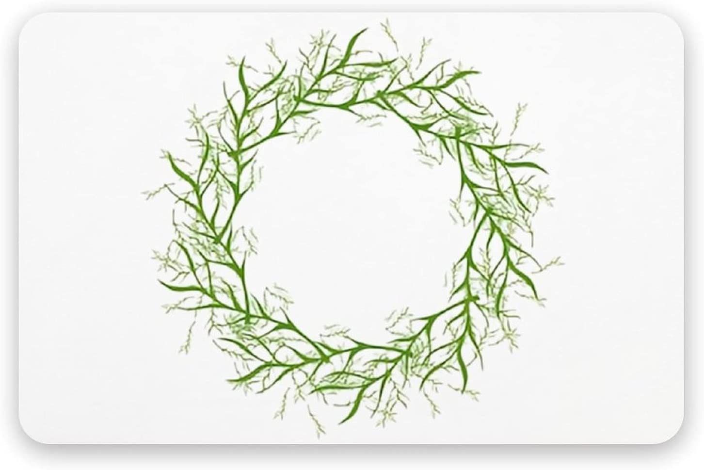 PotteLove Hand Drawn Vector Green Earth San Jose Mall - Floral Shipping included Ba Diatomaceous