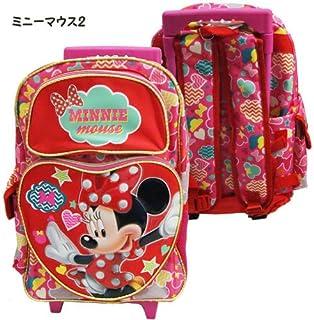 Disney ディズニー ミニーマウス 子供用旅行かばん ローリングバッグ キャスターバッグ コロコロ-ミニーマウス2