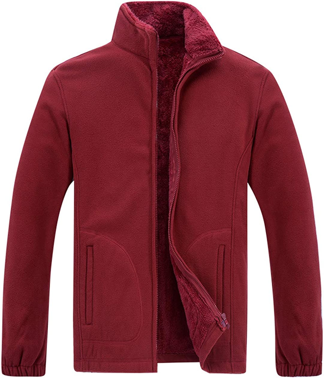 ebossy Fort Worth Mall Directly managed store Men's Essential Collar Winter Zip Full Lined Ultra Sherpa