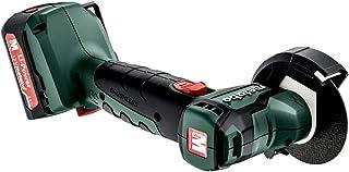Metabo Akku-Winkelschleifer Kunststoffkoffer 12V 2x2Ah PowerMaxx CC 12 BL Battery Angle Grinder (600348500) Plastic case 1...