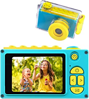BlueFire Kids Digital Camera Mini 2 Inch Screen Children's Camera 8MP HD Digital Camera with Waterproof Case & 256M SD Car...