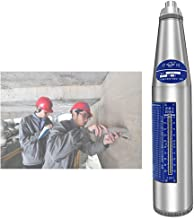 CGOLDENWALL Concrete Rebound Hammer Tester Resiliometer Schmidt Hammer Test Meter Tool within the scope of 10-60Mpa ZC3-A Calibration Certificated