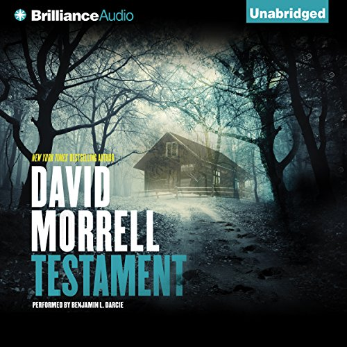 Testament audiobook cover art
