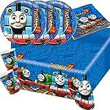 37-teiliges insieme del partito Thomas e i suoi amici - Tovaglioli Tazze Piastra Tovaglia per 8 Bambini