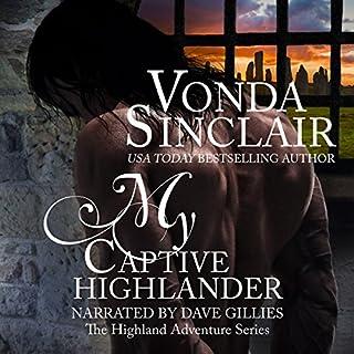 My Captive Highlander audiobook cover art