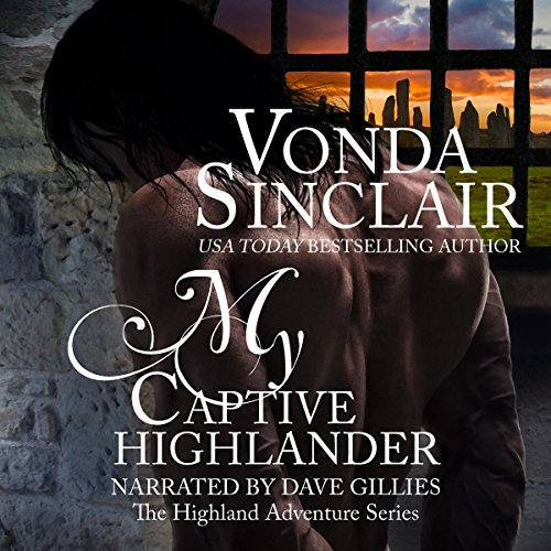 My Captive Highlander audiobook cover art