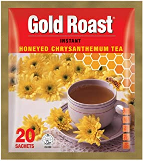 Gold Roast Instant Honeyed Chrysanthemum Tea, 18 g (Pack of 20)