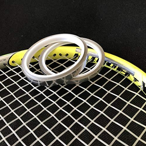 Blanchel 0,18 mm di Spessore Racchetta da Tennis Cintura di Piombo Adesivi in Pelle di Piombo Adesivi di aggravamento per Tennis Badminton Racchetta da Golf Club