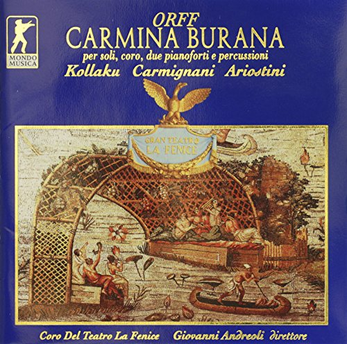 Orff: Carmina Burana (Konzertaufnahme aus dem Teatro La Fenice, 2.11.1996)