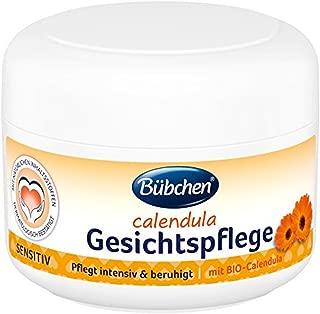 Bübchen Calendula Gesichtspflege Creme für trockene Haut, Baby-Creme mit BIO-Calendula, Gesichts- und Pflege-Creme, Menge: 1 x 75 ml