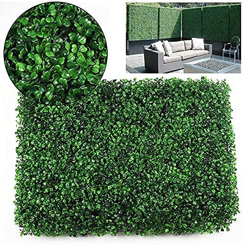 Artificial Max 51% OFF Faux Ivy Hedge Grass Wall Max 69% OFF Panel He Privacy