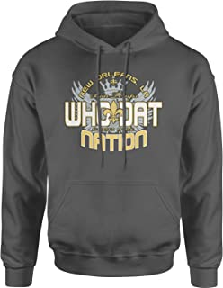 Who Dat Nation New Orleans (Color) Unisex Adult Hoodie