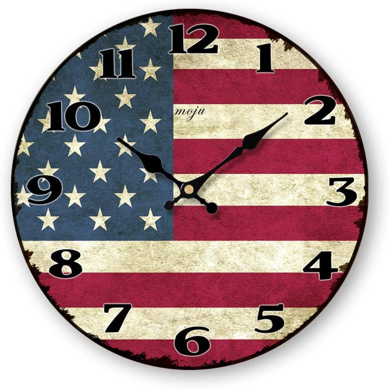 Envío 100% gratuito LQUIDE Reloj de Parojo Reloj de Madera Estilo de de de Arte Luminoso Reloj de Parojo Luminoso Tictac Reloj de Parojo de Madera Minimalista y Elegante  gran descuento