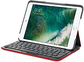 Logitech Canvas Keyboard Case for iPad mini 2, and 3 - Red (RED)
