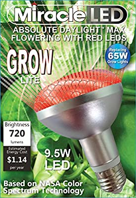 Miracle LED 603090 Commercial Hydroponic Ultra Grow Lite, Red