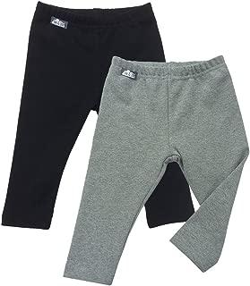 JAN & JUL Winter Leggings for Baby Toddler Kids Boys Girls Unisex Warm Fleece-Lined