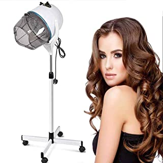 WFWPY Casco Secador De Pelo,Salon Hair Steamer,Casco Secador De Pelo 950W con Función De Tiempo Ajuste De Temperatura para El Salón De Belleza Cuidado del Cabello Y El Cabello