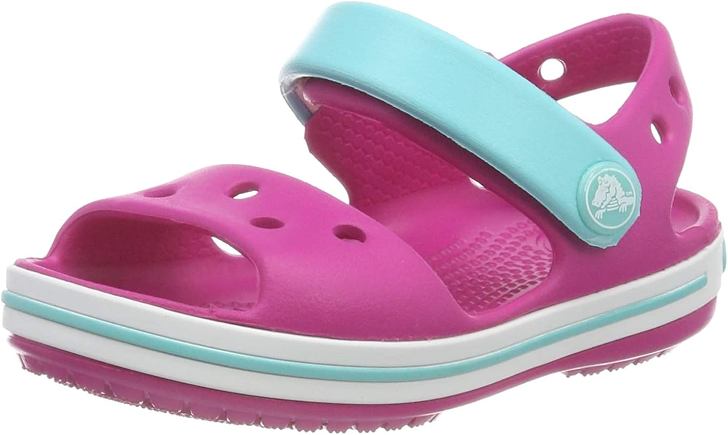 Sandali con Cinturino alla Caviglia Unisex-Bambini Crocs Crocband Kids