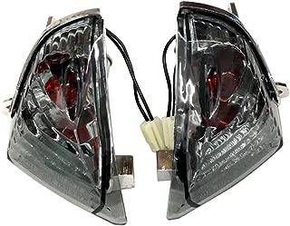ZXMOTO Rear Turn Signal Indicator Light for Suzuki GSXR 600 GSXR 750 K6 (2006-2007)/GSXR 1000 K5 (2005-2006) Smoked Lenses