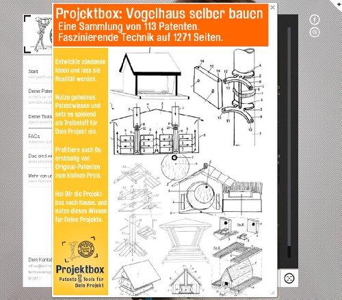 Vogelhaus selber bauen: Deine Projektbox inkl. 113 Original-Patenten bringt Dich mit Spaß ans Ziel!