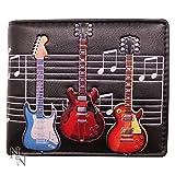 Nemesis Now C1951F6 - Cartera para Guitarras eléctricas (10 cm, PU, 11 cm), Color Negro