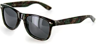 Camo Spex Wayfarer Polarized Sunglasses for Men & Women Protect Your Eyes From Harmful Glare for Those Who Like To Hunt, Fish, Camp, and Play Outdoors