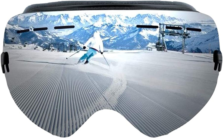YHLL YHLL YHLL Skibrille, Doppel-Skibrille Große Kugelförmige Bergsteigen-Anti-Fog-Skibrille Outdoor-Skibrille B07L89T5MK  Die Farbe ist sehr auffällig 343358