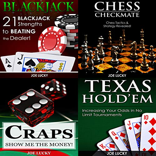 Blackjack & Chess Checkmate & Craps & Texas Hold'em  By  cover art