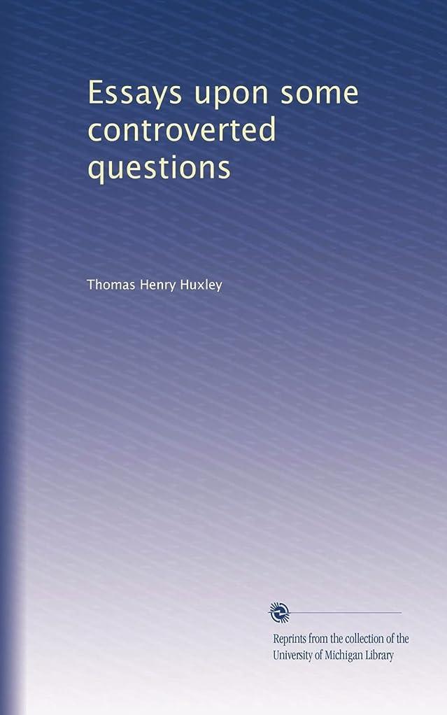 セーターニックネーム百科事典Essays upon some controverted questions