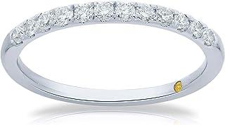 La Joya 1/4 Carat Total Weight (ctw) Certified Lab Grown Diamond Rings for Women - Solid 10k White Gold - Dainty Wedding R...