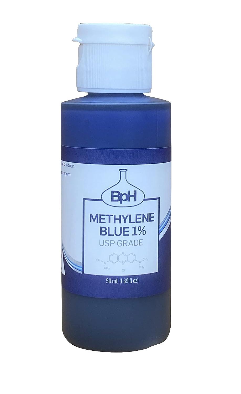 Regular discount Biopharm 1 year warranty Methylene Blue 1% USP Dispensing 50 Easy mL Grade