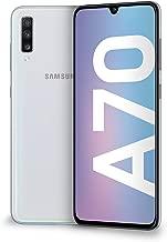 "Samsung Galaxy A70 Display 6.7"", 128 GB Espandibili, RAM 6 GB, Batteria 4500 mAh, 4G, Dual SIM Smartphone, Android 9 Pie, (2019) [Versione Italiana], White"