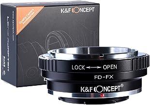 [正規代理店]K&F CANON FDマウント-フジX FX マウントアダプター レンズクロス付 fd-fx (KFFX)