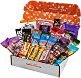 HANGRY KIT - Man Kit – Gift for Men – College Care Package – Full of What Men Crave – Nuts, Meat, Protein, and Snacks