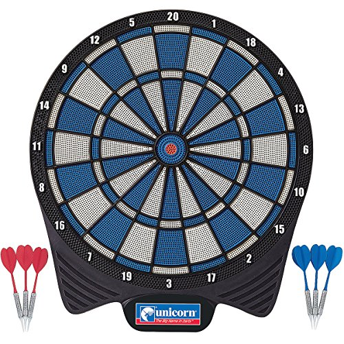 Unicorn Non Electronic Soft Tip Dartboard, inkl. 6 Darts