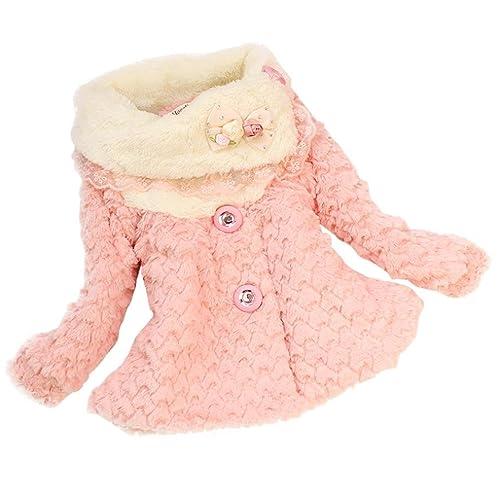 3a4e1fc1 Toddler Girl Coats: Amazon.co.uk