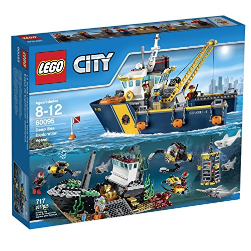 LEGO City Deep Sea Explorers 60095 Exploration Vessel Building Kit by LEGO