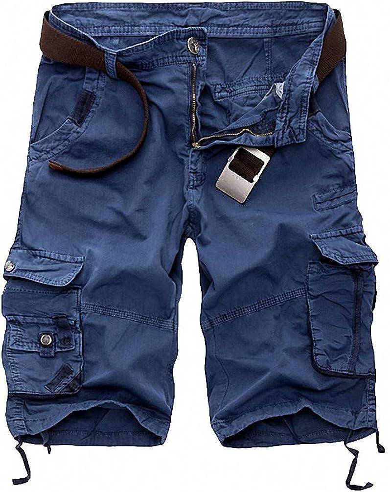 Goobester Cargo Shorts Camouflage Casual Men Pants Comfortable