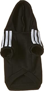 Mumoo Bear Hoodie Fleece sweater Black Dog Clothes, Size S