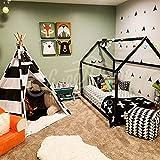 Cama Infantil Tipo Montessori, cama de flores, Cama montessori blanco gris negro...