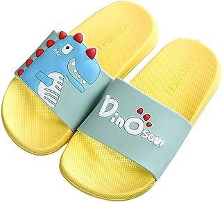 Zapatillas De Verano para Niños, Antideslizantes, Dinosaurio, Estampado De Unicornio, Niño, Niña