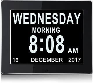 SINOIDEAS Metal Digital Alarm Clock, 8